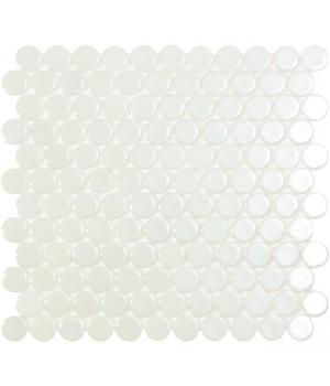 Мозаїка 30,1*31,3 Br White Circle 6000C VIDREPUR