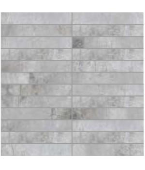 Мозаїка 30*30 Oxydum Silver (Tozz. 2,5*15) LA FENICE CERAMICHE
