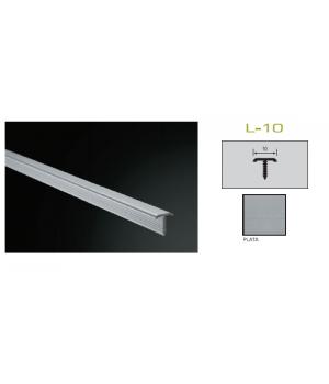 Бордюр 1*250*2,5 Plata Plasdecor