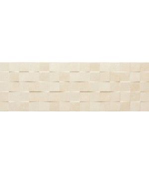 Плитка 25*75 Yaiza Beige Decor M Relieve Cubic Tau Ceramica