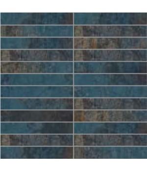 Мозаїка 30*30 Oxydum Steel (Tozz. 2,5*15) LA FENICE CERAMICHE
