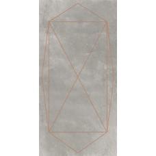 Плитка 120*240 Araldica Cemento Blasone Rosa Mat 6Mm Rett 763520 Cedit