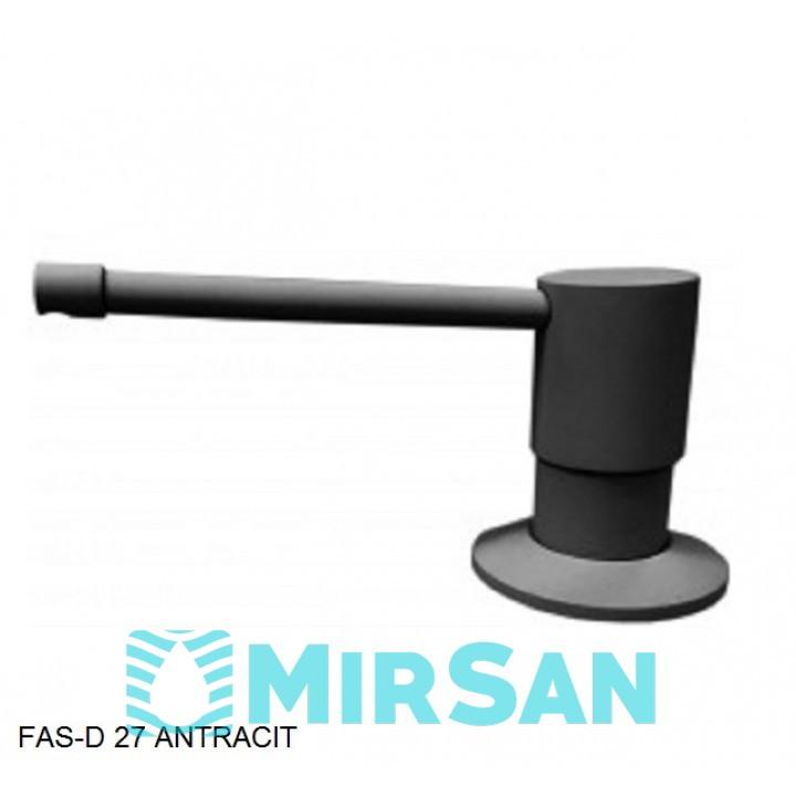 Кухонный дозатор моющего средства латунь,нержавеющая сталь,пластик FAS-D 27 Fabiano