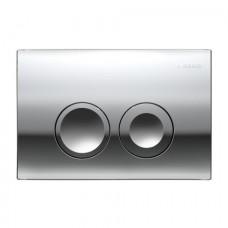 Кнопка Geberit Delta 21 Смывная клавиша, пластик, хром глянц. 115.125.21.1