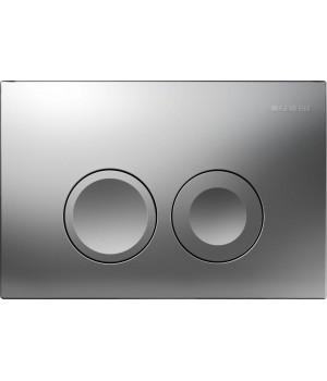 Кнопка Geberit Delta 21 Смывная клавиша, пластик, хром.мат 115.125.46.1