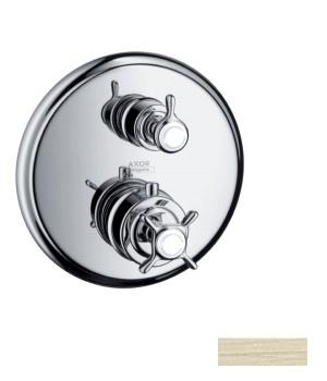 Axor Montreux Термостат с запорным вентилем, СМ, шлиф. никель 16800820 Axor