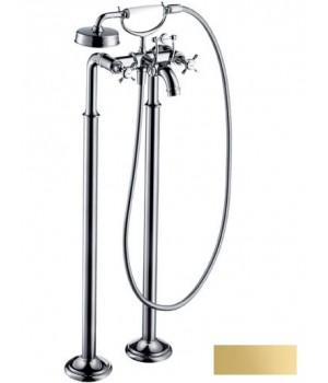 Axor Montreux Смеситель для ванны, двухвентильный, цв полир золото 16547990 Axor