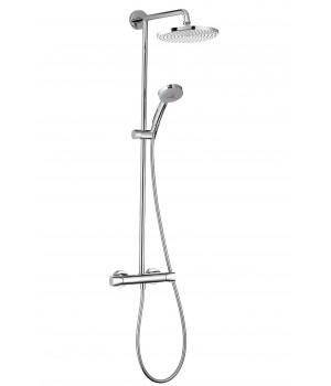 Showerpipe Verso 240 Душевая система с термостатом 27205000 Hansgrohe