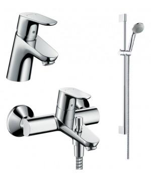 Focus Comfort Set Душевой набор смесителей для ванны (31730000+31940000+27763000) 31934000 Hansgrohe