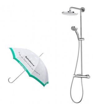 Showerpipe Verso 240 Душевая система с термостатом+зонт 27205000+86002104 Hansgrohe