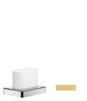 Axor Стаканчик для зубных щёток, цвет шлиф. золото 42834250 Axor