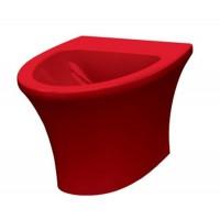 Биде напольное Idevit Rena 2906-0105-08 красный