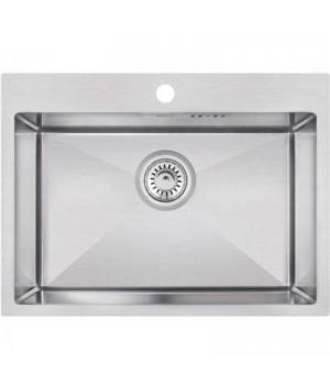 Кухонная мойка из нержавеющей стали Imperial D5843 Handmade 3.0