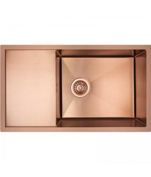 Кухонная мойка из нержавеющей стали Imperial D7844BR PVD bronze Handmade 3.0