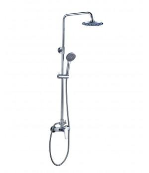 Душевая система BILA SMEDA new  (смеситель для душа, верхний и ручной душ 1 режим, шланг 1,5м) T-15086