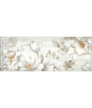 Kерамическая плитка Intercerama Blanco декор серый/Д 181 071