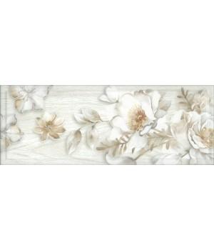 Kерамическая плитка Intercerama Blanco декор серый/Д 181 071-1