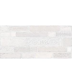 Kерамическая плитка Intercerama Brick декор серый/Д 50 071