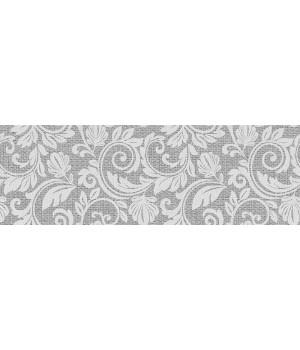Kерамическая плитка ITT Ceramic Passione DECOR GREY 600×200×10