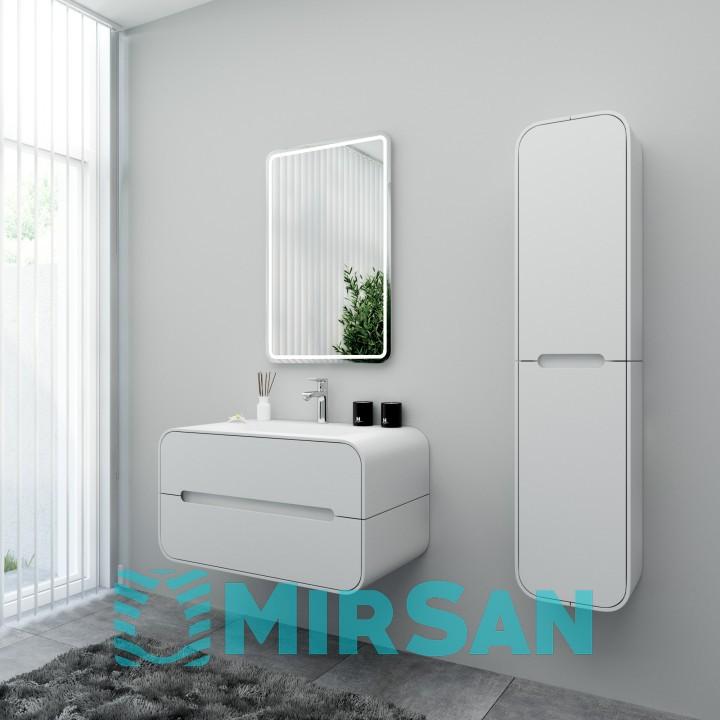 Зеркало Marsan Pirret Стандарт 700 белый