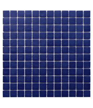 Мозаика АкваМо Concrete Cobalt (имитация бетона ) 31,7х31,7