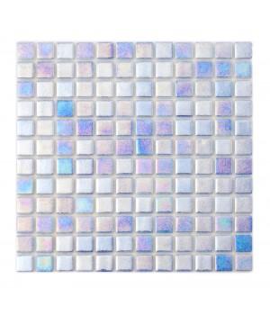 Мозаика АкваМо Blue PWPL25503 (присыпка+перламутр) 31,7х31,7