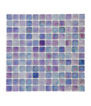 Мозаика АкваМо Cobalt PWPL25504 (присыпка+перламутр) 31,7х31,7