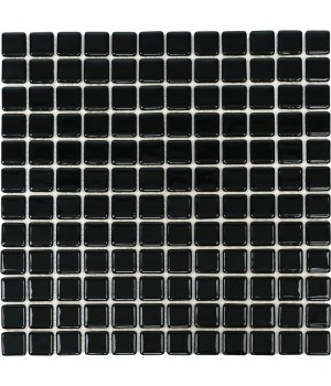 Мозаика АкваМо Black MK25109 31,7х31,7