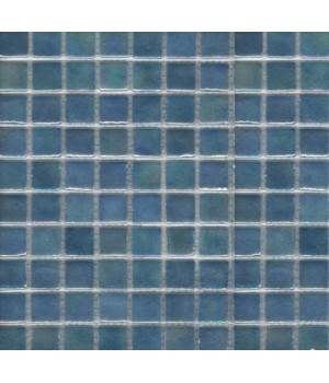 Мозаика АкваМо Blue Worn (присыпка+перламутр) 31,7х31,7