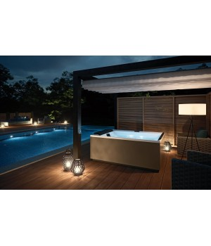 Гидромассажный СПА-бассейн Novellini Divina Outdoor BASIC