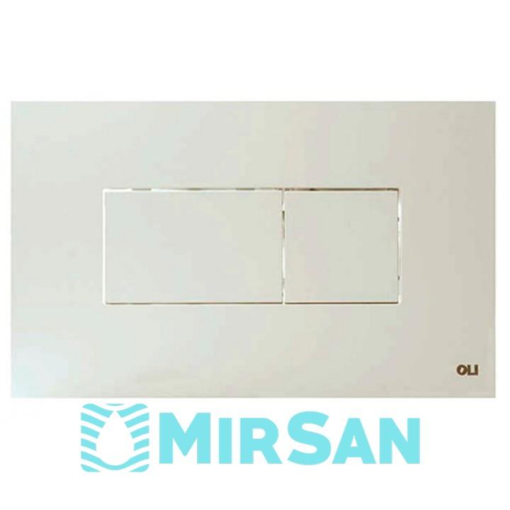 Кнопка для смыва Karisma, белая Oli 641001