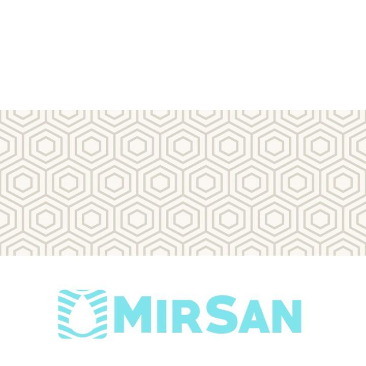 Kерамическая плитка Golden Tile Arcobaleno Декор айвори Argento №5 200х500