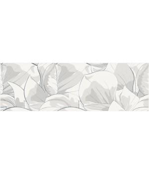 Kерамическая плитка Opoczno Flower Cemento WHITE INSERTO 240x740x10