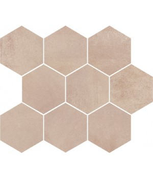 Kерамическая плитка Opoczno Arlequini MOSAIC HEXAGON 280x337x11