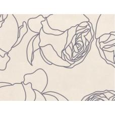 Kерамическая плитка Golden Tile Isolda Декор №1 светло-бежевый 250х330