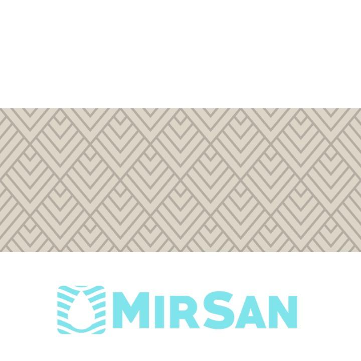 Kерамическая плитка Golden Tile Arcobaleno Декор светло-серый Argento №3 200х500