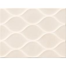 Kерамическая плитка Golden Tile Isolda Стена рельеф светло-бежевый 250х330