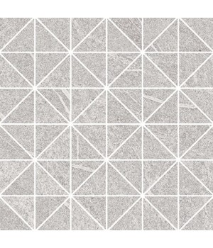 Kерамическая плитка Opoczno Grey Blanket TRIANGLE MOSAIC MICRO 29X29