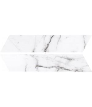 Kерамическая плитка Oset Tinos WHITE CHEVRON 400×80×8