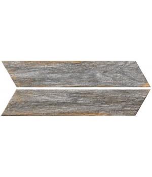 Kерамическая плитка Oset Bora GREY CHEVRON 400×80×8