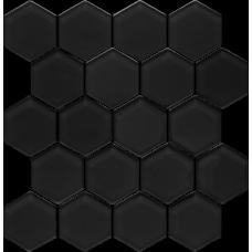 Универсальная мозайка Paradyz Margarita Szklana Nero Heksagon 25,8x28