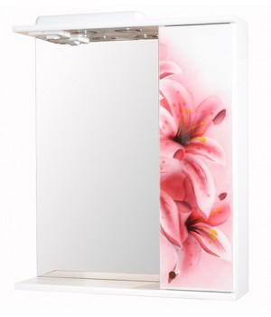 Зеркало 60 см розовая лилия