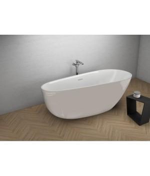 Акрилова ванна SHILA сіра, 170 x 85 см Polimat