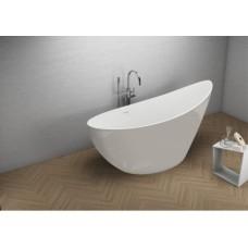 Акрилова ванна ZOE сіра, 180 x 80 см Polimat