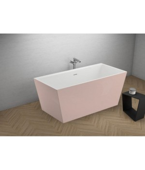 Акрилова ванна LEA рожева, 170 x 80 см Polimat