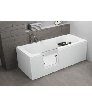 Акрилова ванна з дверцятами VOVO, 170 x 75 см Polimat