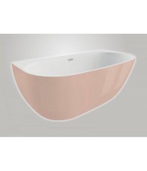 Акрилова ванна RISA рожева, 170 x 80 см Polimat