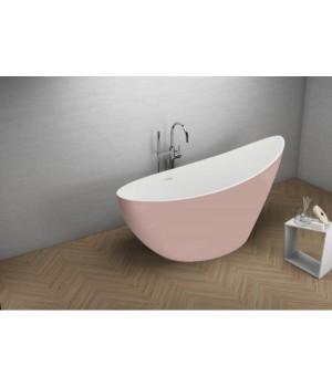 Акрилова ванна ZOE рожева, 180 x 80 см Polimat