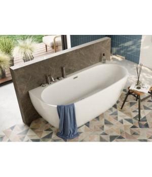 Акрилова ванна RISA біла, 170 x 80 см Polimat