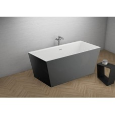 Акрилова ванна LEA графітова, 170 x 80 см Polimat
